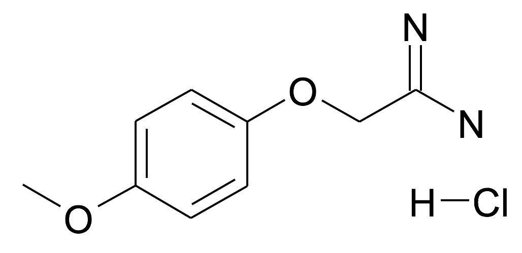2-(4-Methoxy-phenoxy)-acetamidine; hydrochloride
