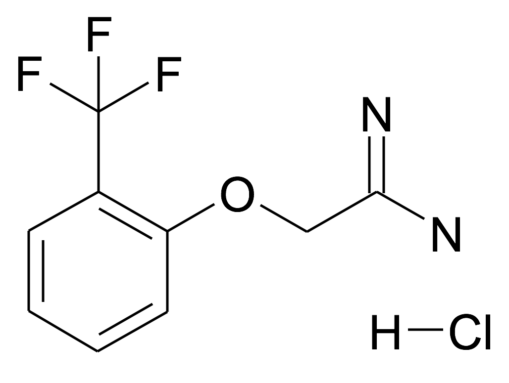2-(2-Trifluoromethyl-phenoxy)-acetamidine; hydrochloride