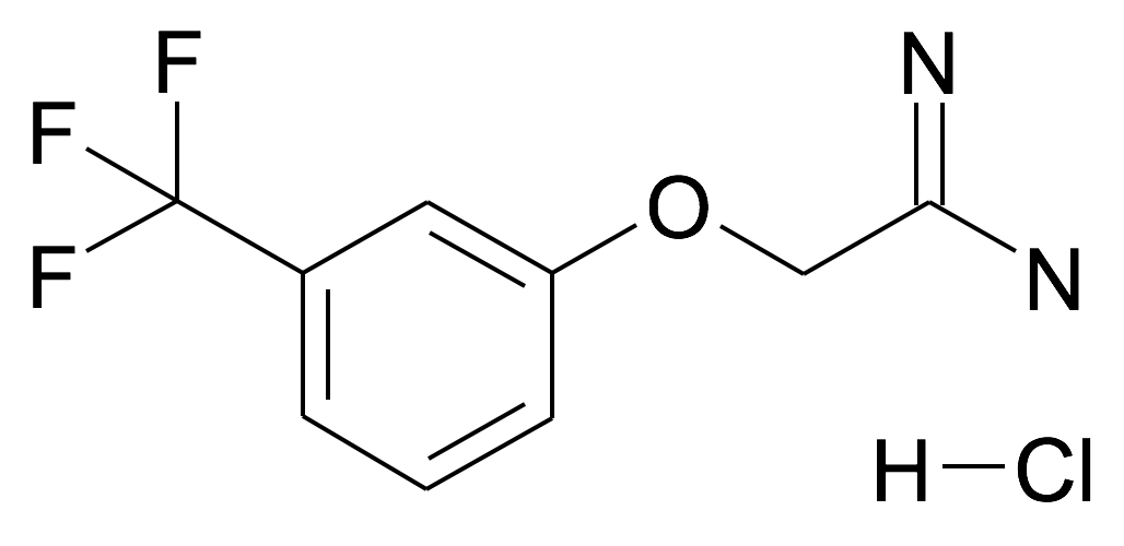 2-(3-Trifluoromethyl-phenoxy)-acetamidine; hydrochloride