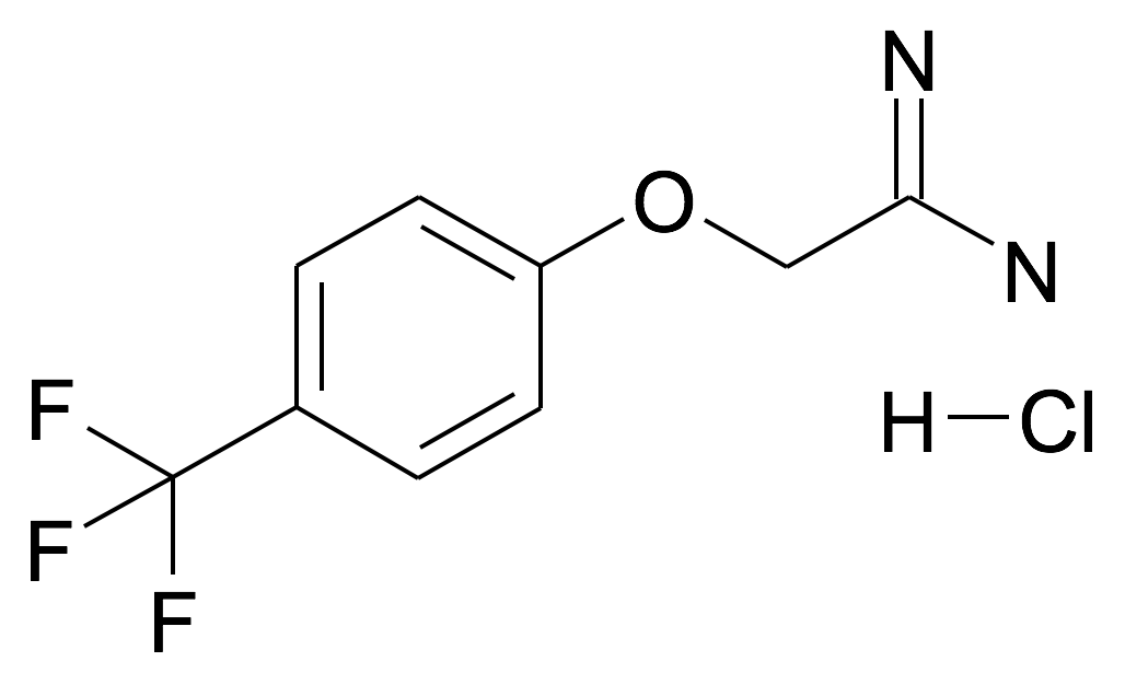 2-(4-Trifluoromethyl-phenoxy)-acetamidine; hydrochloride