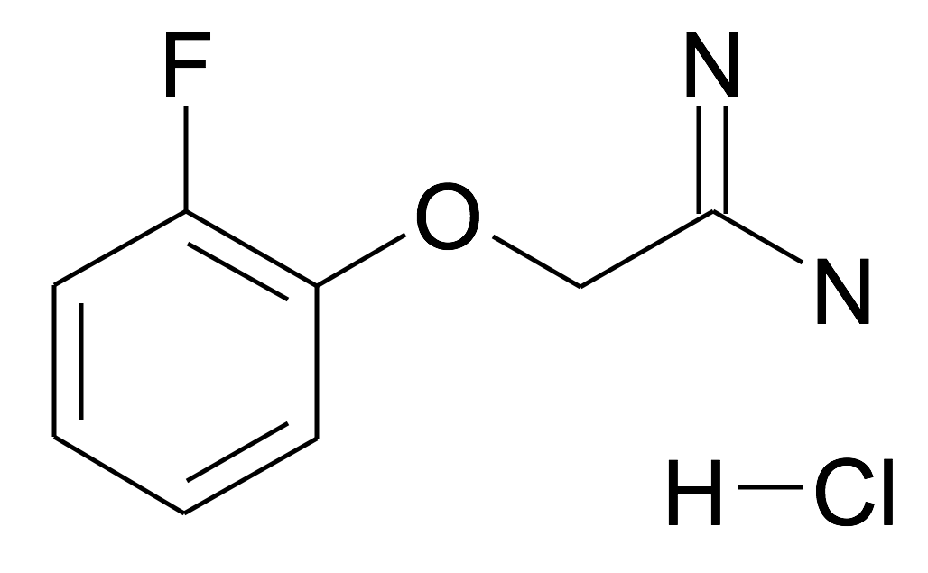 2-(2-Fluoro-phenoxy)-acetamidine; hydrochloride