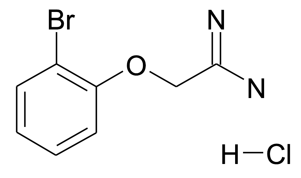 2-(2-Bromo-phenoxy)-acetamidine; hydrochloride