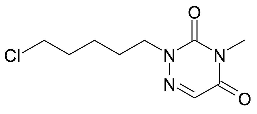 2-(5-Chloro-pentyl)-4-methyl-2H-[1,2,4]triazine-3,5-dione