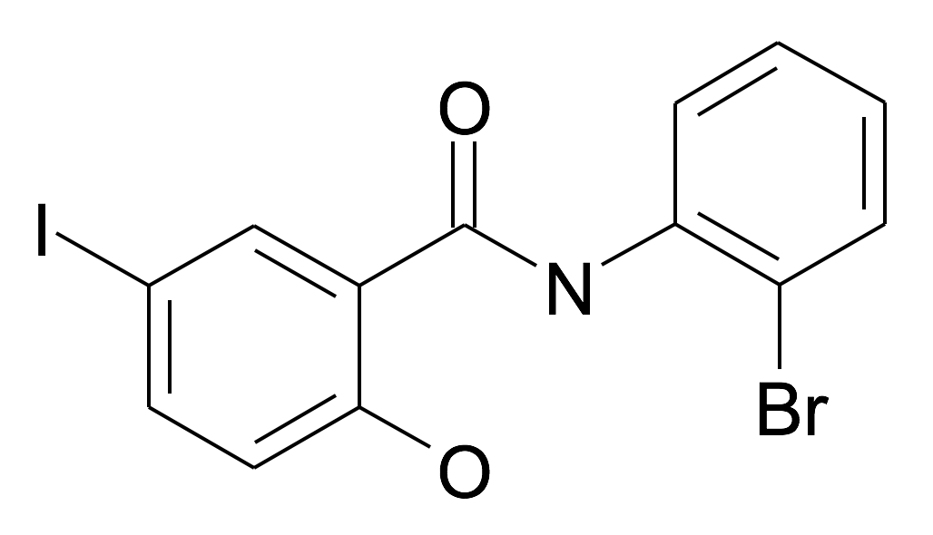N-(2-Bromo-phenyl)-2-hydroxy-5-iodo-benzamide