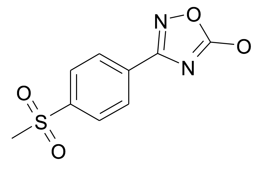3-(4-Methanesulfonyl-phenyl)-[1,2,4]oxadiazol-5-ol