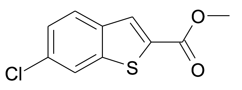 6-Chloro-benzo[b]thiophene-2-carboxylic acid methyl ester