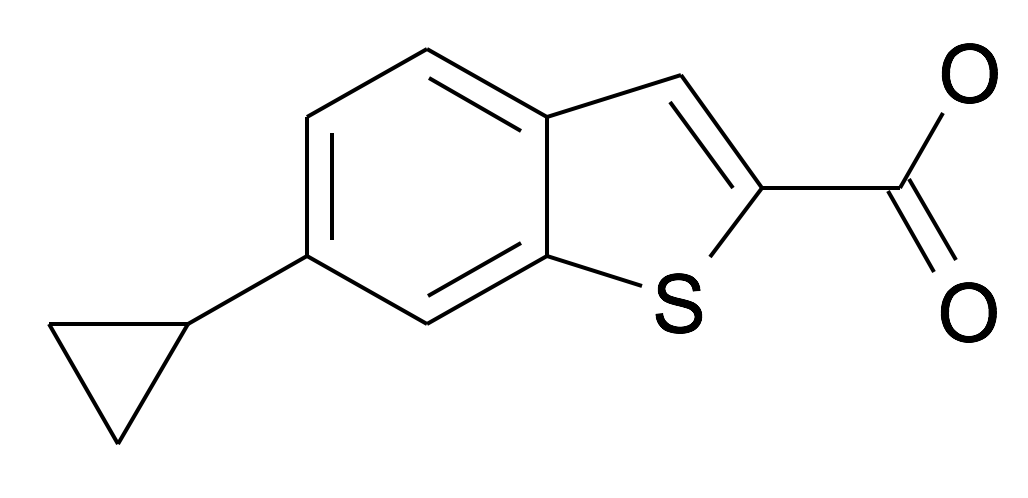 6-Cyclopropyl-benzo[b]thiophene-2-carboxylic acid