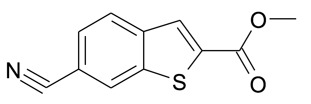 6-Cyano-benzo[b]thiophene-2-carboxylic acid methyl ester
