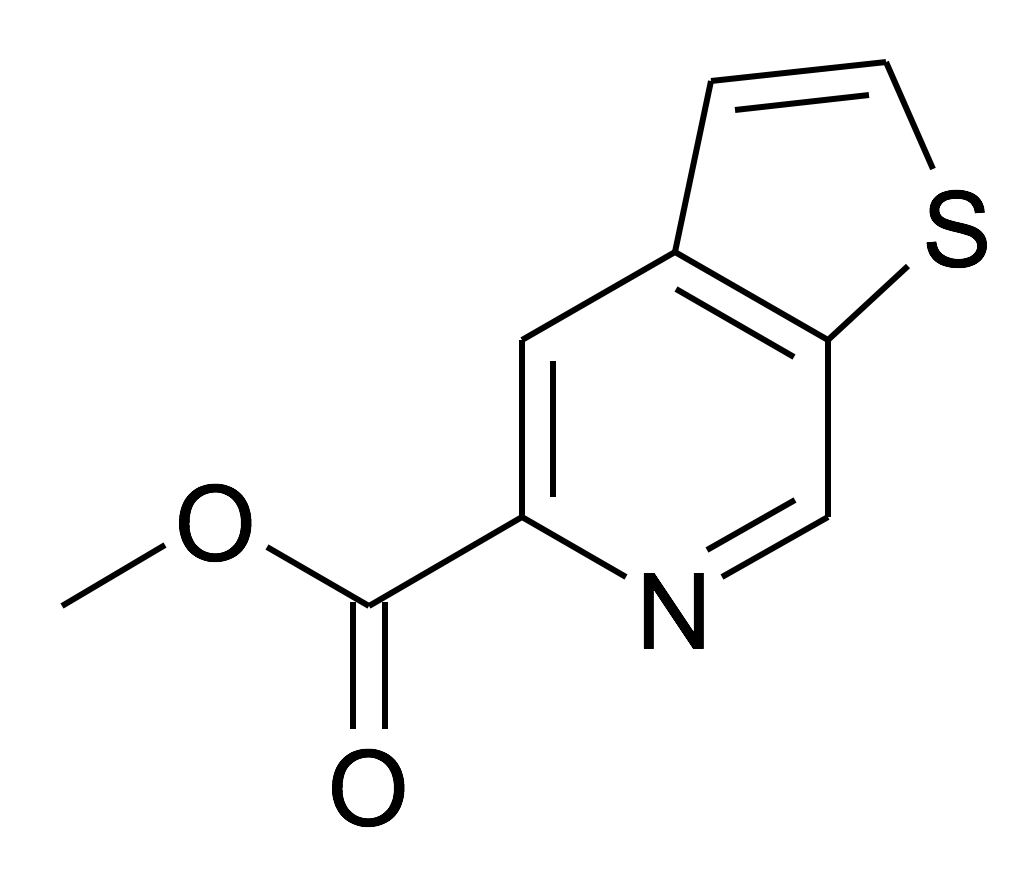 Thieno[2,3-c]pyridine-5-carboxylic acid methyl ester