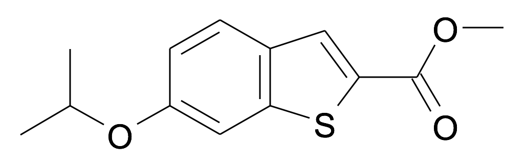 6-Isopropoxy-benzo[b]thiophene-2-carboxylic acid methyl ester
