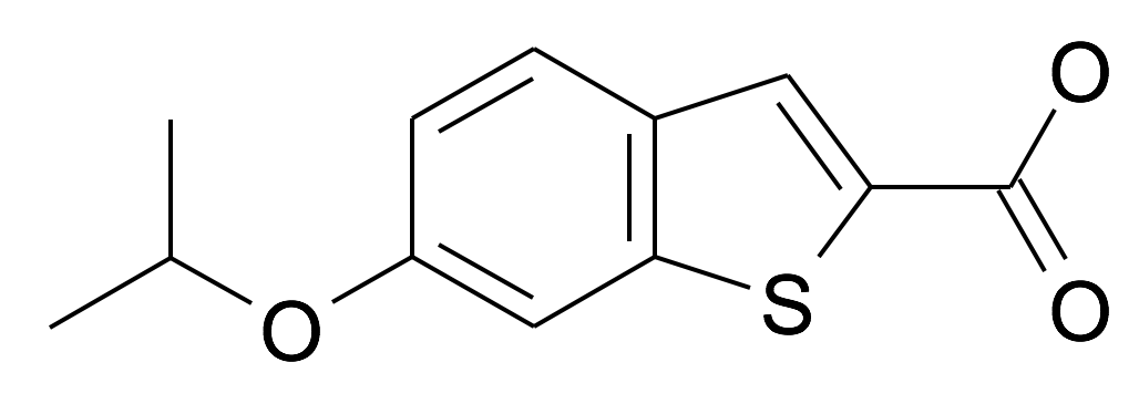 6-Isopropoxy-benzo[b]thiophene-2-carboxylic acid