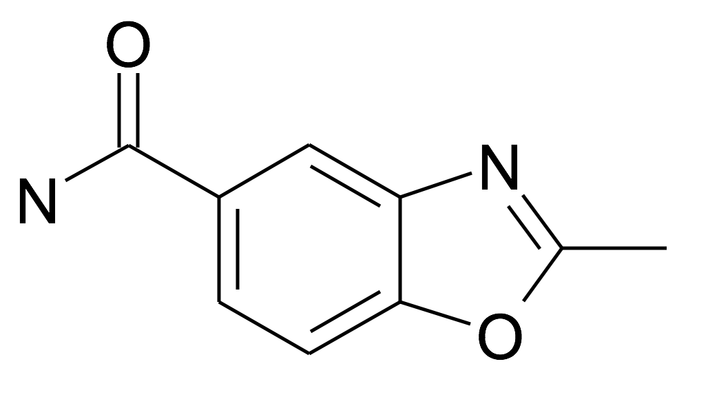 2-Methyl-benzooxazole-5-carboxylic acid amide