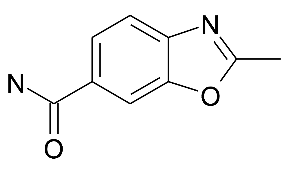 2-Methyl-benzooxazole-6-carboxylic acid amide