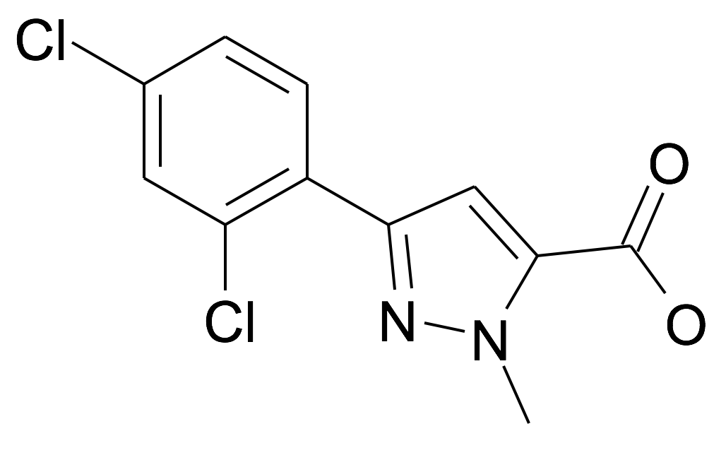 133113-04-9 | MFCD12213245 | 5-(2,4-Dichloro-phenyl)-2-methyl-2H-pyrazole-3-carboxylic acid | acints