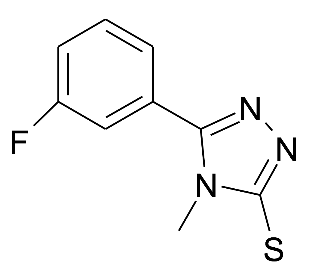 5-(3-Fluoro-phenyl)-4-methyl-4H-[1,2,4]triazole-3-thiol
