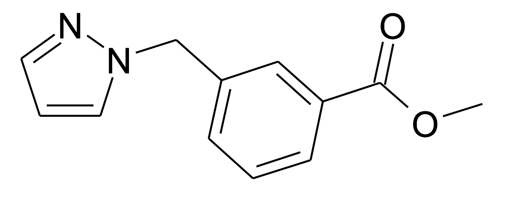 3-Pyrazol-1-ylmethyl-benzoic acid methyl ester