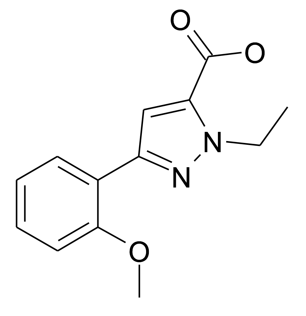 2-Ethyl-5-(2-methoxy-phenyl)-2H-pyrazole-3-carboxylic acid