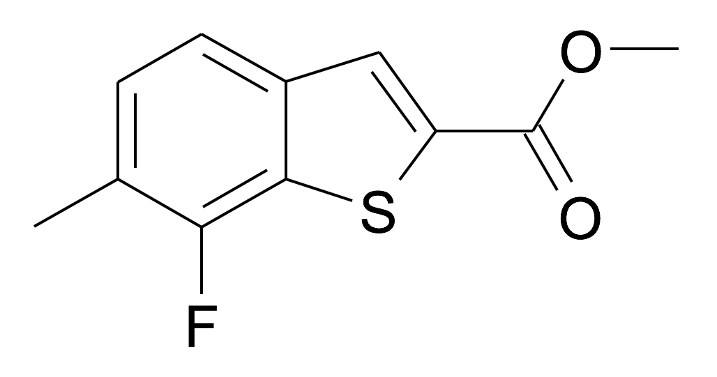 7-Fluoro-6-methyl-benzo[b]thiophene-2-carboxylic acid methyl ester