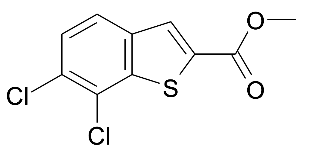 6,7-Dichloro-benzo[b]thiophene-2-carboxylic acid methyl ester