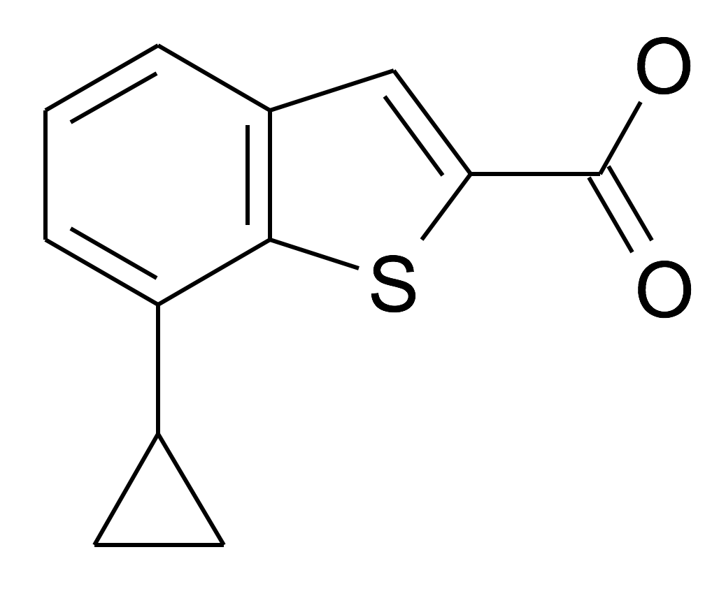 7-Cyclopropyl-benzo[b]thiophene-2-carboxylic acid