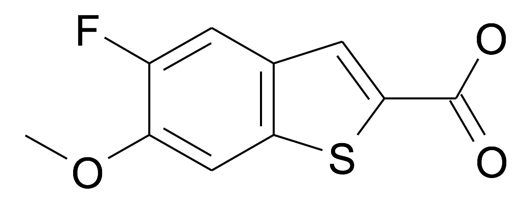 5-Fluoro-6-methoxy-benzo[b]thiophene-2-carboxylic acid