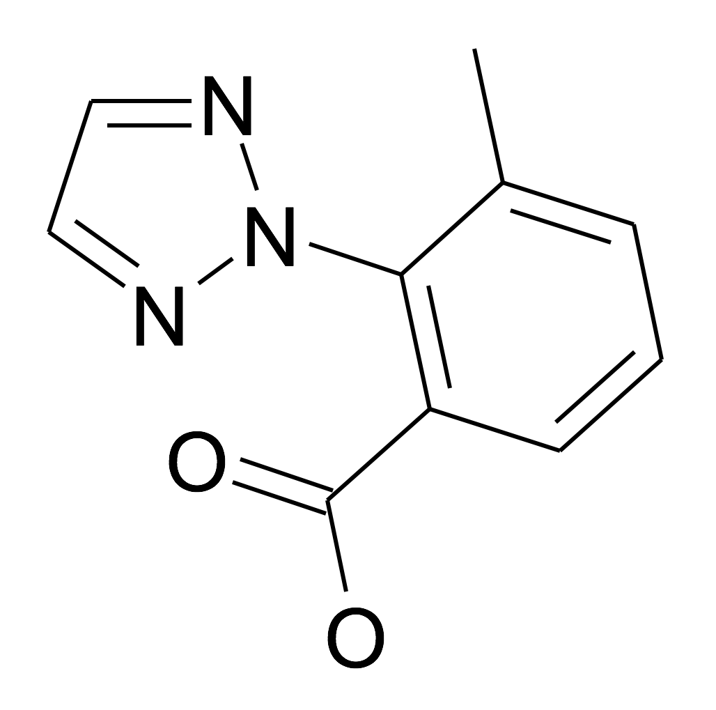 3-Methyl-2-[1,2,3]triazol-2-yl-benzoic acid
