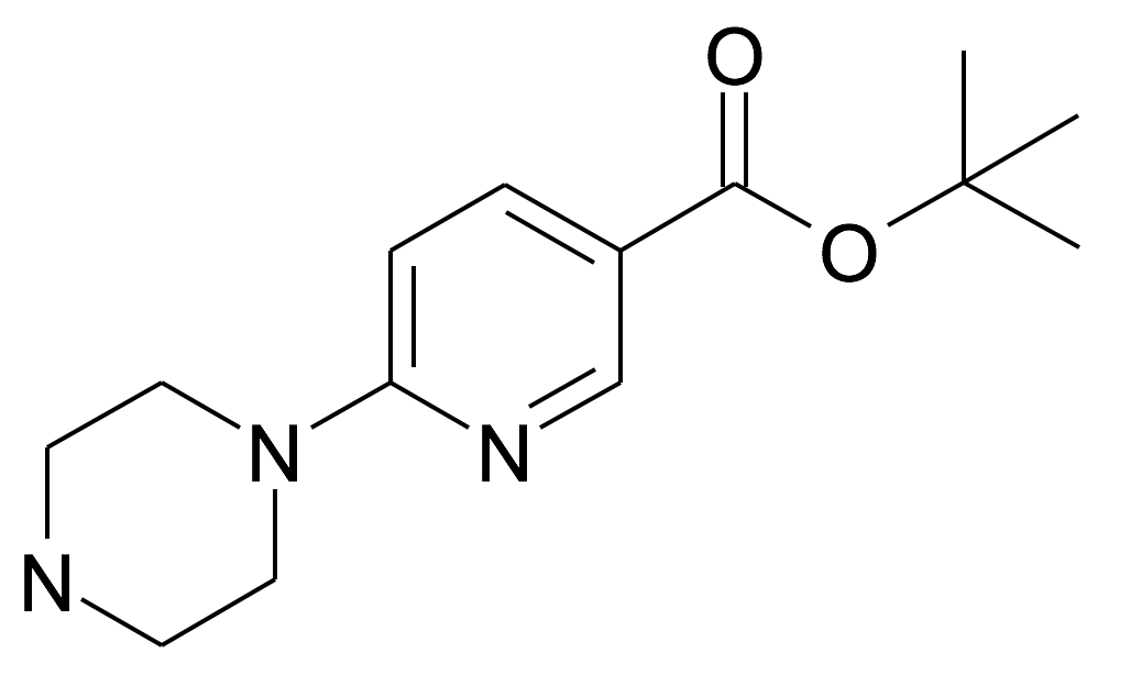 6-Piperazin-1-yl-nicotinic acid tert-butyl ester