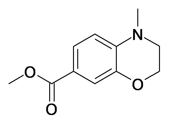 4-Methyl-3,4-dihydro-2H-benzo[1,4]oxazine-7-carboxylic acid methyl ester