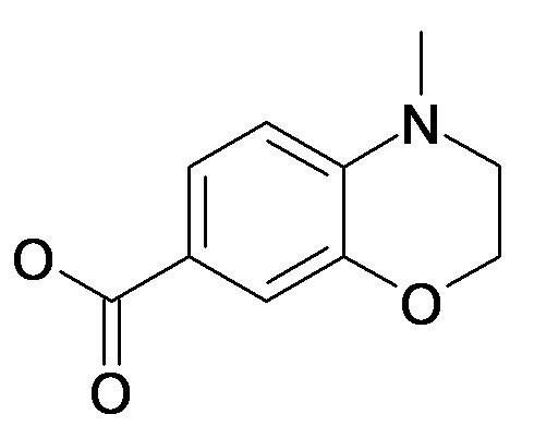 4-Methyl-3,4-dihydro-2H-benzo[1,4]oxazine-7-carboxylic acid
