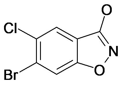 6-Bromo-5-chloro-benzo[d]isoxazol-3-ol