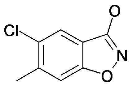 5-Chloro-6-methyl-benzo[d]isoxazol-3-ol