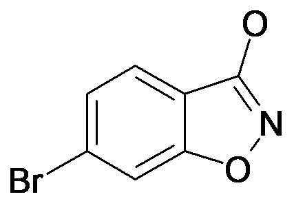 6-Bromo-benzo[d]isoxazol-3-ol