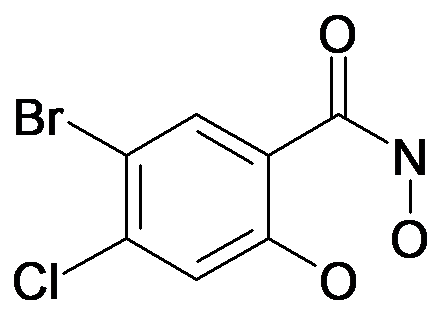 5-Bromo-4-chloro-2,N-dihydroxy-benzamide