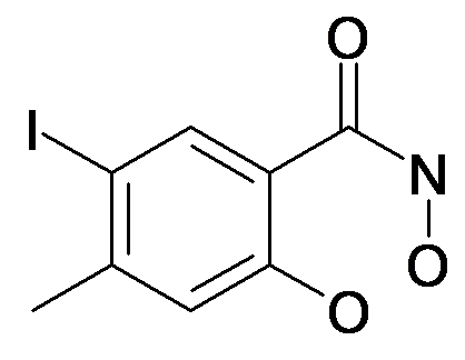 2,N-Dihydroxy-5-iodo-4-methyl-benzamide