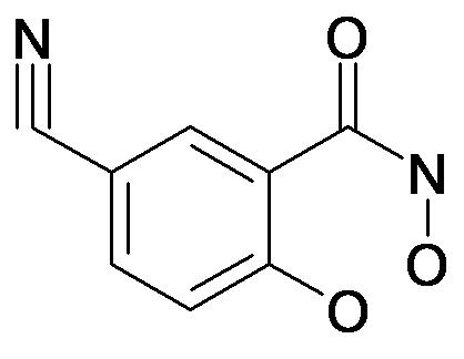 5-Cyano-2,N-dihydroxy-benzamide