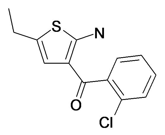 (2-Amino-5-ethyl-thiophen-3-yl)-(2-chloro-phenyl)-methanone