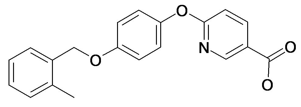 6-[4-(2-Methyl-benzyloxy)-phenoxy]-nicotinic acid
