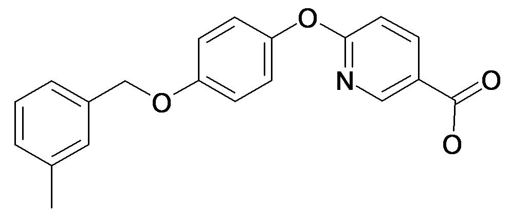 6-[4-(3-Methyl-benzyloxy)-phenoxy]-nicotinic acid