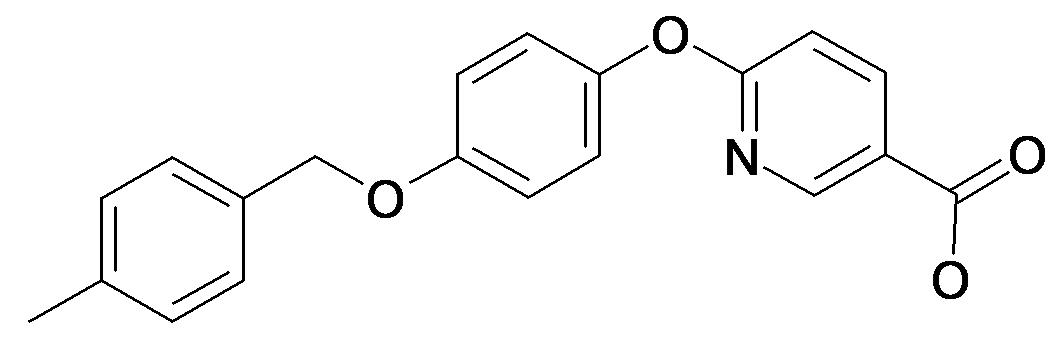 6-[4-(4-Methyl-benzyloxy)-phenoxy]-nicotinic acid