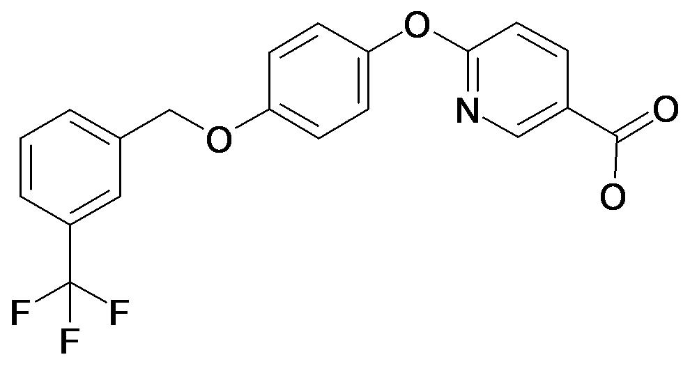 6-[4-(3-Trifluoromethyl-benzyloxy)-phenoxy]-nicotinic acid