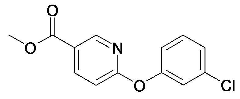 6-(3-Chloro-phenoxy)-nicotinic acid methyl ester