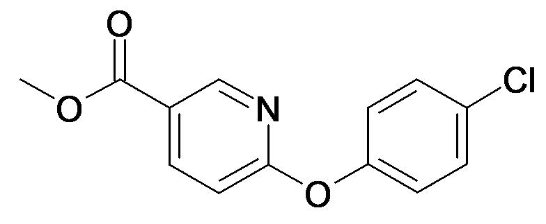 6-(4-Chloro-phenoxy)-nicotinic acid methyl ester