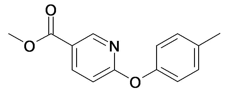 6-p-Tolyloxy-nicotinic acid methyl ester