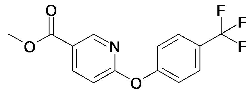 6-(4-Trifluoromethyl-phenoxy)-nicotinic acid methyl ester