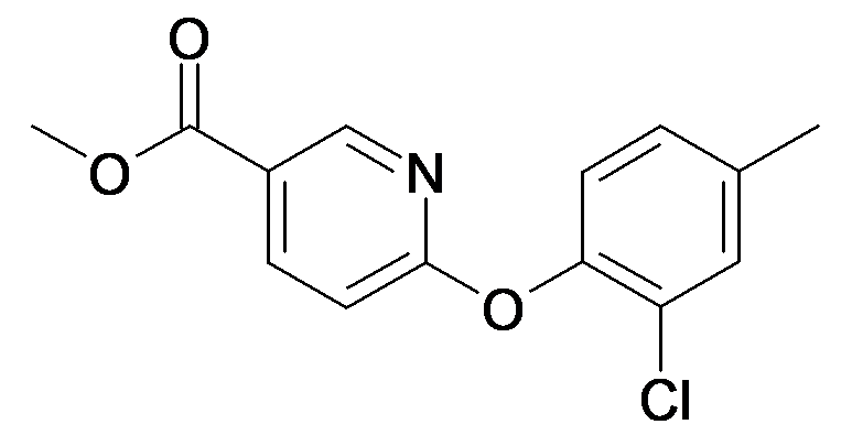 6-(2-Chloro-4-methyl-phenoxy)-nicotinic acid methyl ester