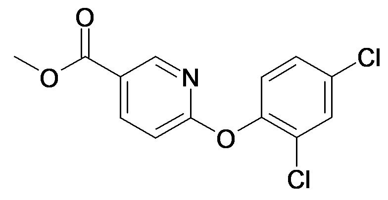 6-(2,4-Dichloro-phenoxy)-nicotinic acid methyl ester