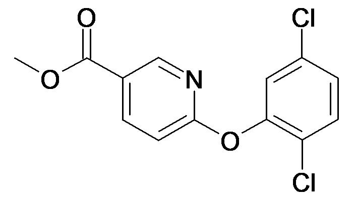 6-(2,5-Dichloro-phenoxy)-nicotinic acid methyl ester