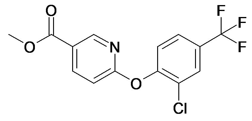6-(2-Chloro-4-trifluoromethyl-phenoxy)-nicotinic acid methyl ester