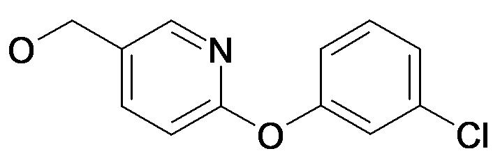 [6-(3-Chloro-phenoxy)-pyridin-3-yl]-methanol