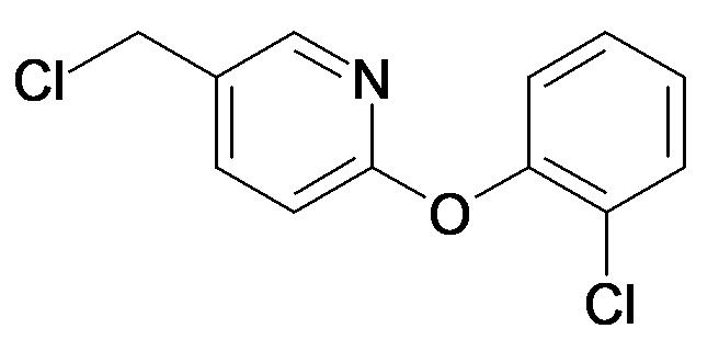 5-Chloromethyl-2-(2-chloro-phenoxy)-pyridine